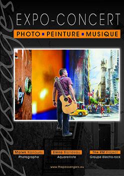 Expo-concert à Huningue