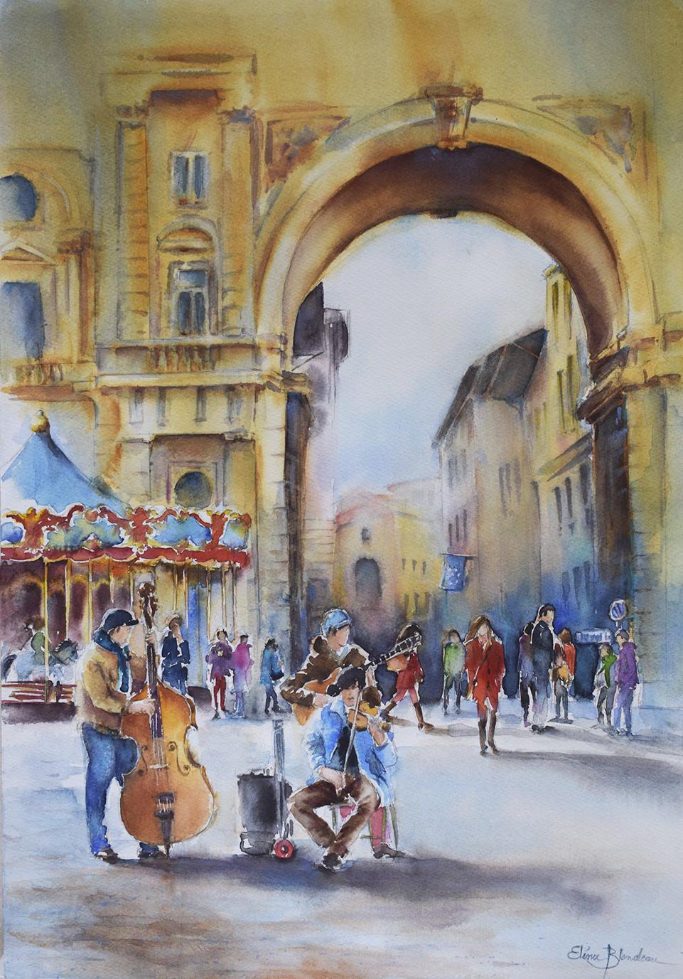 Piazza Reppublica - Firenze 70 x 50