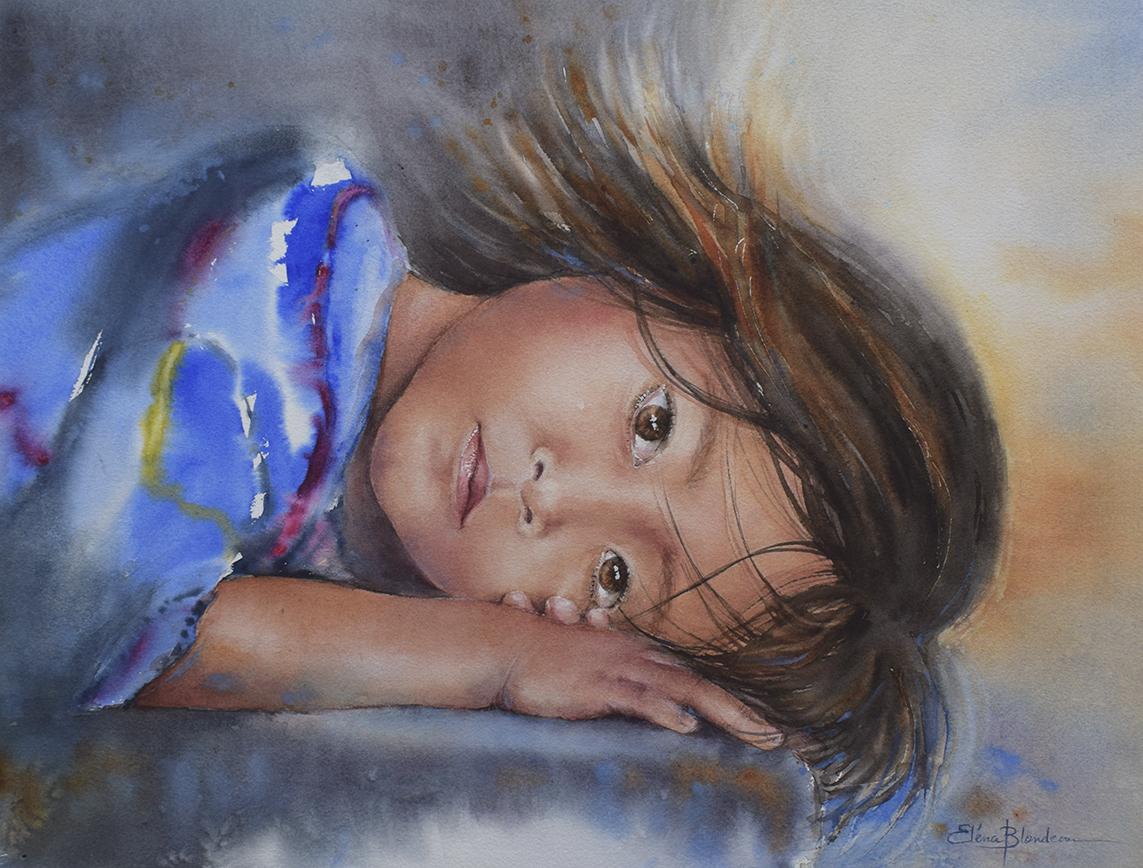 Petite fille Balinaise