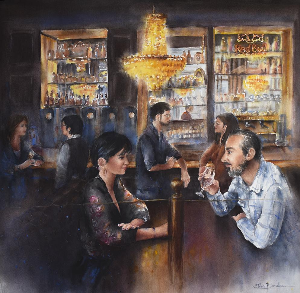 Scène de Bar I