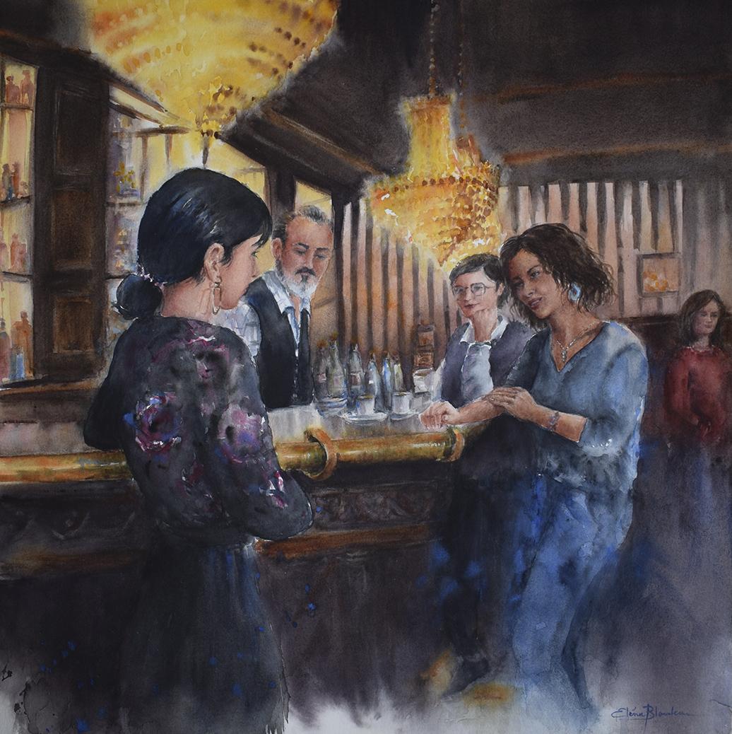 Scène de Bar II
