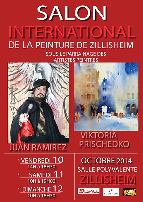 Salon de la peinture internationale de zillisheim l na for Salon de la photo 2016